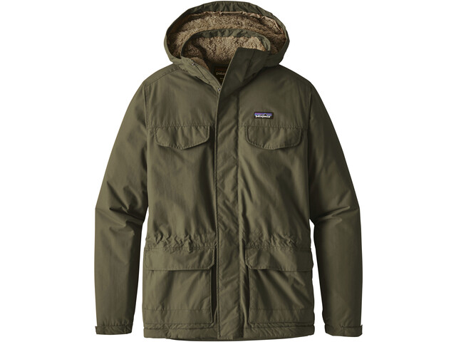 Patagonia Isthmus Parka Hombre, industrial green